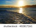 cullera playa los olivos beach... | Shutterstock . vector #402817261