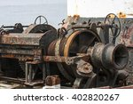 Old Rusty Machinery On A...