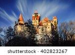 dracula's medieval castle  ... | Shutterstock . vector #402823267