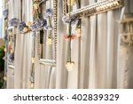 wedding decorations | Shutterstock . vector #402839329