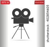 cinema vector icon | Shutterstock .eps vector #402854605