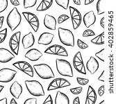 vector seamless pattern with... | Shutterstock .eps vector #402859465