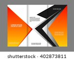 brochure design template... | Shutterstock .eps vector #402873811