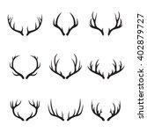 horns icons | Shutterstock .eps vector #402879727