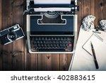 typewriter   Shutterstock . vector #402883615