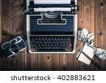 typewriter | Shutterstock . vector #402883621