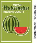 retro fresh food poster design. ...   Shutterstock .eps vector #402889501