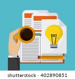 creative process colorful... | Shutterstock .eps vector #402890851