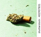 marijuana and cannabis | Shutterstock . vector #402907831