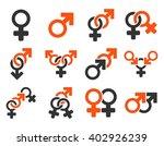 sexual relation symbols raster... | Shutterstock . vector #402926239
