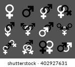 sexual relation symbols raster... | Shutterstock . vector #402927631