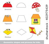 simple geometric shapes for... | Shutterstock .eps vector #402975439