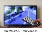 watching cycling in the... | Shutterstock . vector #402986551