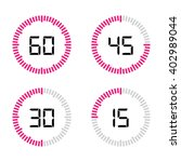timer set   Shutterstock .eps vector #402989044