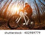 cyclist riding the bike | Shutterstock . vector #402989779