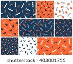 seamless simple geometrical... | Shutterstock .eps vector #403001755