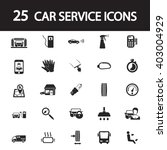 car service icons set | Shutterstock .eps vector #403004929