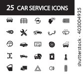 car service icons set   Shutterstock .eps vector #403004935