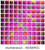 pink colored mosaic   Shutterstock . vector #40300921