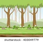 vector illustration forest... | Shutterstock .eps vector #403049779