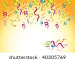 celebrations  streaming party... | Shutterstock .eps vector #40305769