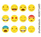 12 set of emojis | Shutterstock . vector #403071685