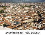 An Aerial View Taken From The...