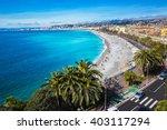 promenade des anglais viewpoint ... | Shutterstock . vector #403117294