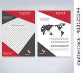 geometric modern business... | Shutterstock .eps vector #403125244