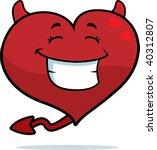 devil heart | Shutterstock . vector #40312807