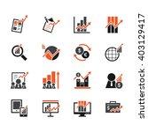 stock market element vector... | Shutterstock .eps vector #403129417