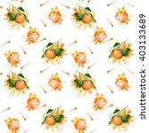 watercolor seamless pattern  ... | Shutterstock . vector #403133689