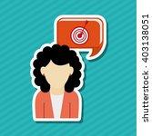 social media design  vector... | Shutterstock .eps vector #403138051