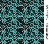 spiral seamless pattern | Shutterstock .eps vector #403138429