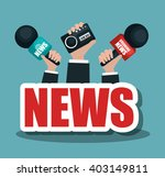breaking news design  | Shutterstock .eps vector #403149811