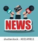 breaking news design  | Shutterstock .eps vector #403149811