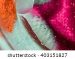 colorful bubbles  curtain of... | Shutterstock . vector #403151827