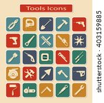 symbols of different tools and... | Shutterstock .eps vector #403159885