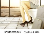 background of airport and... | Shutterstock . vector #403181101
