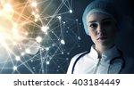 innovative technologies in... | Shutterstock . vector #403184449