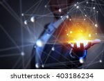 technologies for connecting... | Shutterstock . vector #403186234