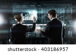 modern technologies in use | Shutterstock . vector #403186957