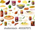 vector illustration of various... | Shutterstock .eps vector #403187071