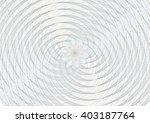 guilloche vector spiral... | Shutterstock .eps vector #403187764