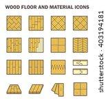 wood floor and material vector... | Shutterstock .eps vector #403194181