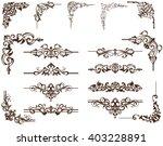 vector ornaments frames ...
