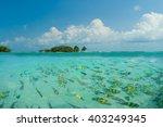 poda beach in krabi thailand | Shutterstock . vector #403249345