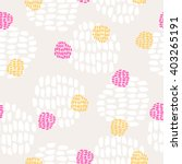 seamless hand drawn pattern | Shutterstock .eps vector #403265191