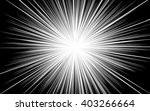 comic black radial lines... | Shutterstock .eps vector #403266664