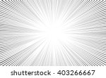 comic black radial lines... | Shutterstock .eps vector #403266667